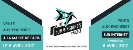 The Hummingbirds Project : Vente aux enchères caritative à Paris  en soutien aux victimes du terrorisme
