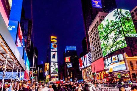 Times Square, New York, Ville, Carrés
