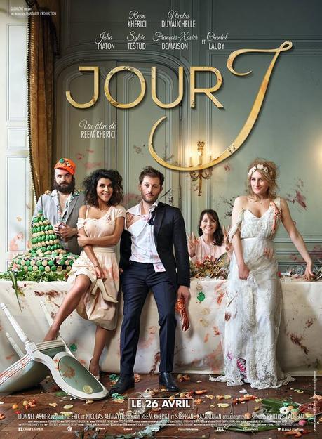 JOUR J avec Reem Kherici, Nicolas Duvauchelle, Julia Piaton, Chantal Lauby au Cinéma le 26 Avril 2017