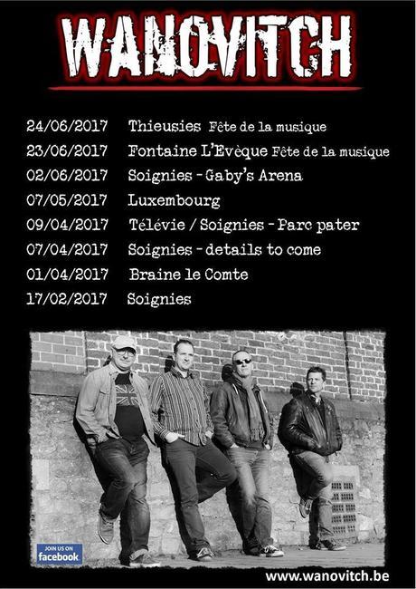 Wanovitch à la Taverne les Arcades, Braine-le-Comte, le 1 avril 2017