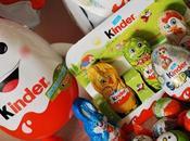 Joyeuses Pâques avec oeufs chocolat surprises Kinder Nouveautés