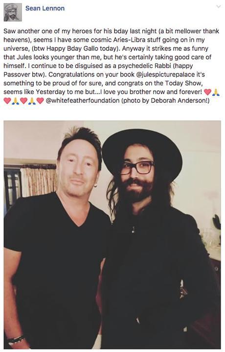 Julian et Sean Lennon réunis !