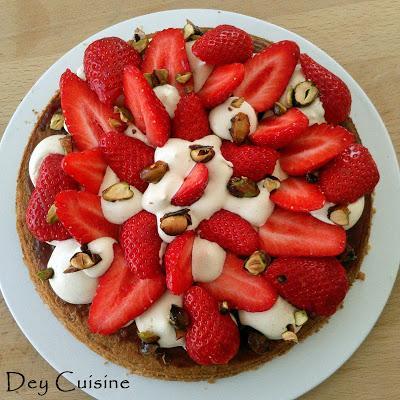 Fantastik fraise & pistache