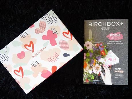 Le récap' de la Birchbox Poésie d'Avril