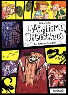 L'Atelier Détectives - Les mystères de la nuit chez Bamboo éditions