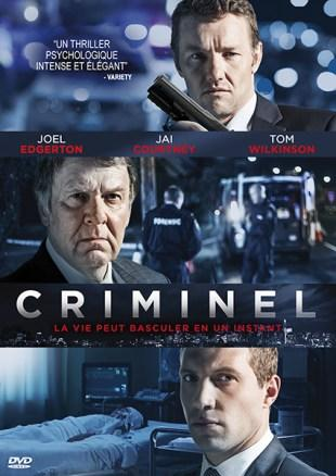 [Concours] Criminel : gagnez 3 DVD du film !