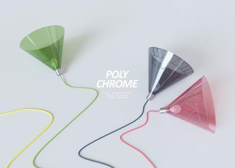 Polychrome Lamps, les suspensions pop d'Ihor Havrylenko