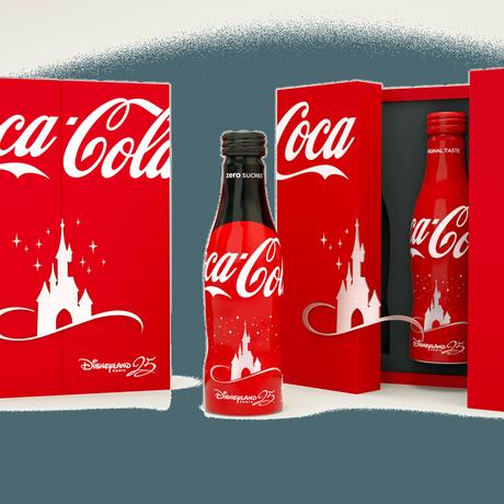 Coca-Cola fait pétiller le 25ème anniversaire de Disneyland Paris