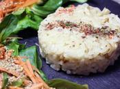 Risotto Printanier Recette sans gluten lactose