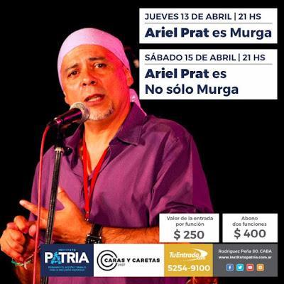 Double récital d'Ariel Prat en ce week-end pascal [à l'affiche]