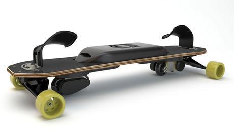 Le skate Leif Tech, un snowboard de rue