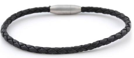 Bracelet fin en cuir homme
