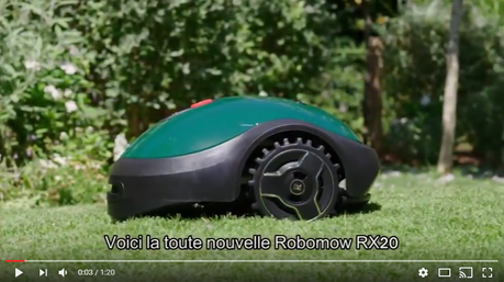 Caractéristiques du robot tondeuse Robomow RX20