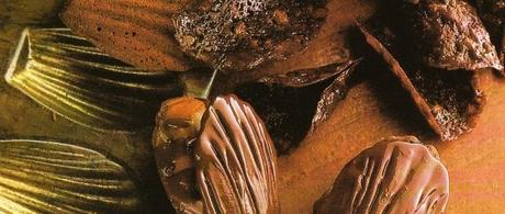 Madeleines vernies au chocolat