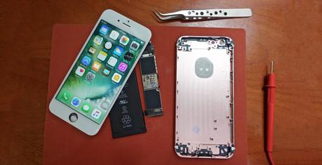 Un ingénieur aurait assemblé son propre iPhone6s pour 300$US