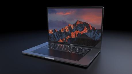 MacBook Pro 2018 : un concept avec un clavier entièrement tactile