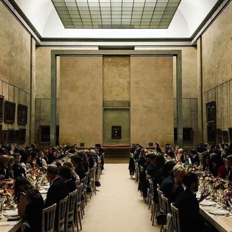 Ils ont dîné au Louvre devant la Joconde