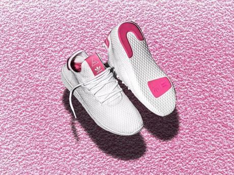 Pharrell x Adidas Human Race White Pink