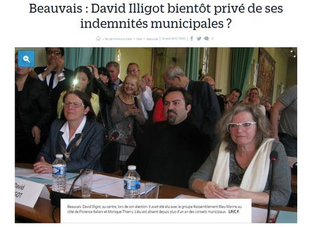 Encore un élu d'extrême droite payé à rien foutre.. #FN #Beauvais