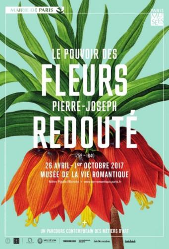 Exposition : Le pouvoir des fleurs, Pierre-Joseph Redouté (1759-1840)