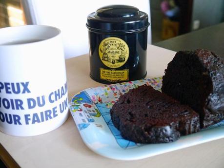 Mon cake tout chocolat ultra rapide et ultra moelleux
