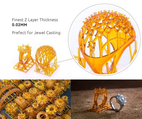 bague imprimée en 3D