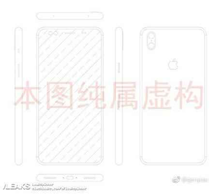 iPhone 8 : des schémas révélant le design du téléphone en fuite ?