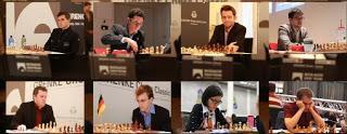 Les participants du Grenke Chess Classic 2017 - Photo © site officiel
