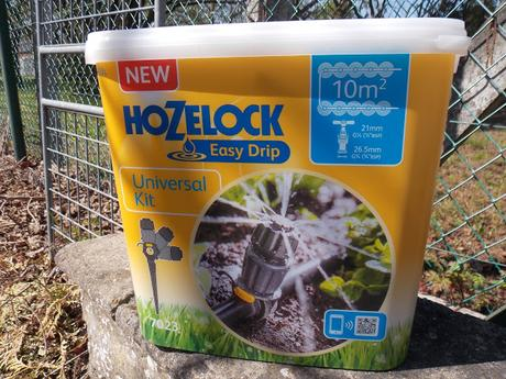 Test du kit universel micro-irrigation Easy Drip d'Hozelock