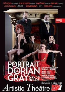 Le Portrait de Dorian Gray adapté et mis en scène par Thomas Le Douarec