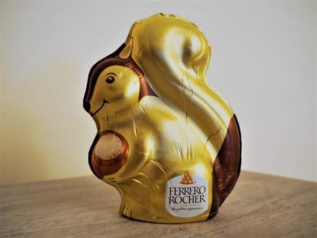 Ferrero Rocher écureuil chocolat noisettes Pâques 2017