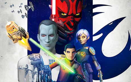 Star Wars Rebels annulée à l'issue de la saison 4, un trailer dévoilé !