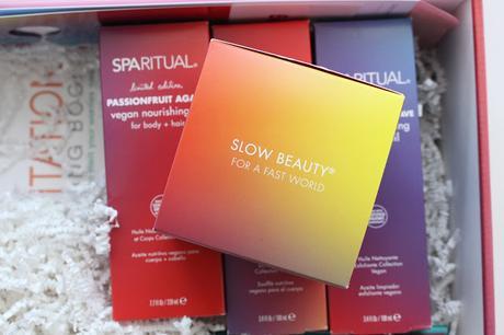 Spa Ritual, la boite Slow Beauty