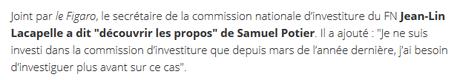 Avec Samuel Potier, le masque du #FN n'en finit pas de tomber… #PesteBrune
