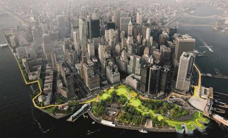 Brooklyn va ériger une barrière végétale anti-inondations