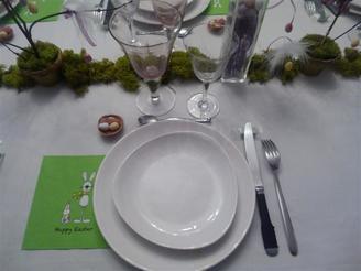 Table réalisée avec les enfants