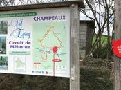 Randonnée autour Champeaux dans Deux-Sèvres circuit Mélusine
