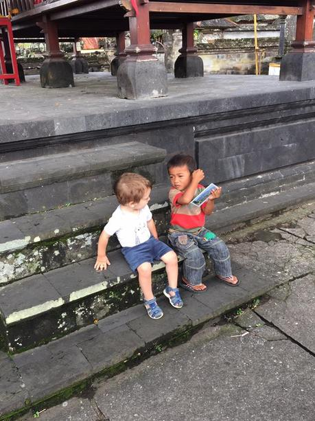 Voyage à Bali avec chauffeur… et bébé