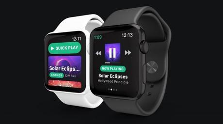 Spotify sur Apple Watch, c'est pour bientôt grâce à Snowy