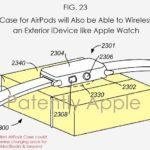 Brevet : le boîtier des AirPods pourra recharger l'Apple Watch & l'iPhone