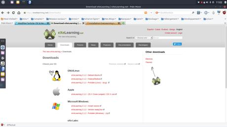 Installer le générateur de contenu d'enseignement eXeLearning sur Ubuntu
