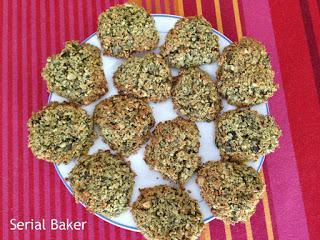 Biscuits graines de courge-noix de coco (sans sucre)