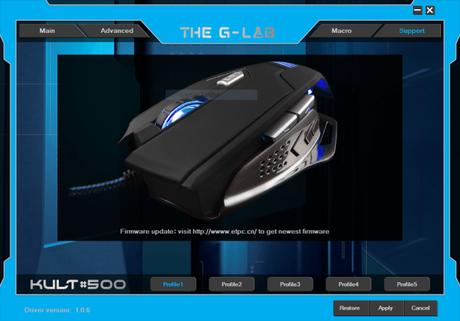 Kult 500 – Découvrez mon avis sur la souris gamer de The G-Lab