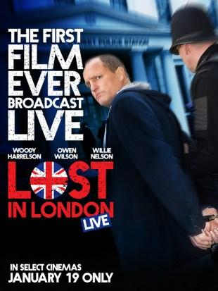 [Trailer] Lost In London : l'incroyable projet de Woody Harrelson !