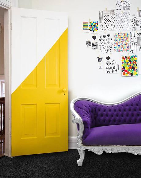 une version bicolore pour relooker ses portes intérieures