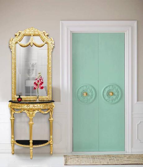 appliquer une couleur monochrome pour relooker ses portes intérieures
