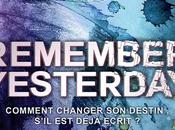 [Lecture] Remember Yesterday après Forget Tomorrow