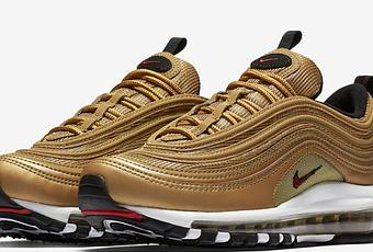 nike air max 97 gold release date paperblog. Black Bedroom Furniture Sets. Home Design Ideas