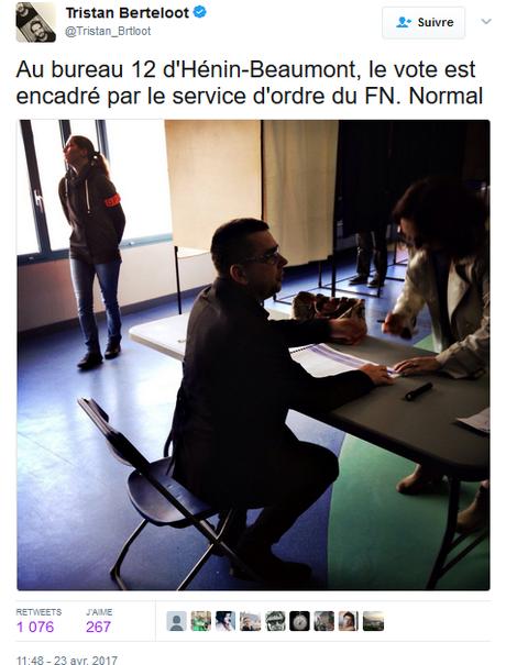 Grave atteinte à la liberté d'informer à Hénin-Beaumont #FN. Police collabos. #violencespolicieres