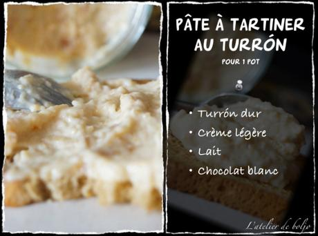 Pâte à tartiner au Turrón